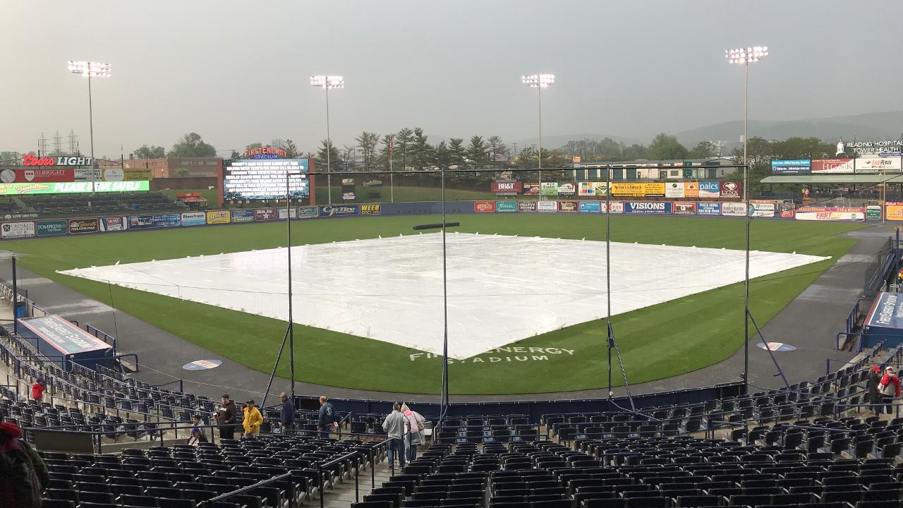 Fightins And Flying Squirrels Postponed Reading Fightin Phils News