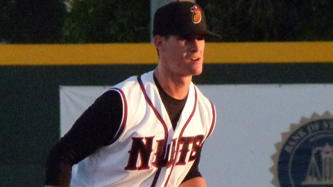 Timothy Smalling hit .274 with 33 RBIs in 68 games with Modesto this season.