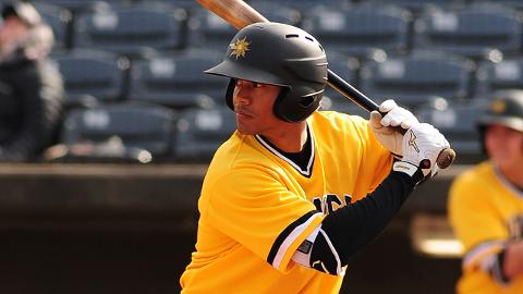 West Virginia's Calvin Mitchell is hitting .371/.420/.677, and his 15 RBIs are second in the South Atlantic League.