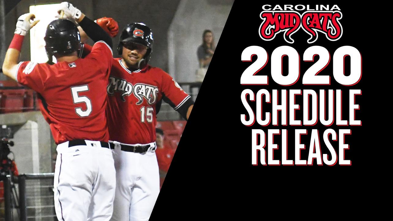 Mudcats Announce 2020 Season Schedule