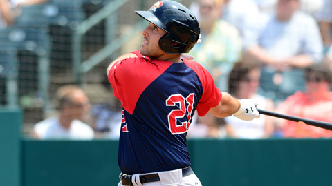 Travis Shaw had a .342 on-base percentage in Double-A ball this year.