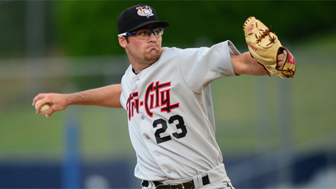 Kyle Westwood has struck out 13 batters and issued two walks as a pro.