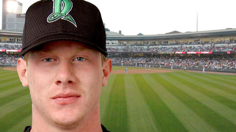 Ryan Hanigan with the Dragons in 2003.