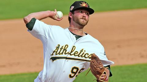 Brendan McCurry has struck out 119 batters in 63 innings during his Minor League career.