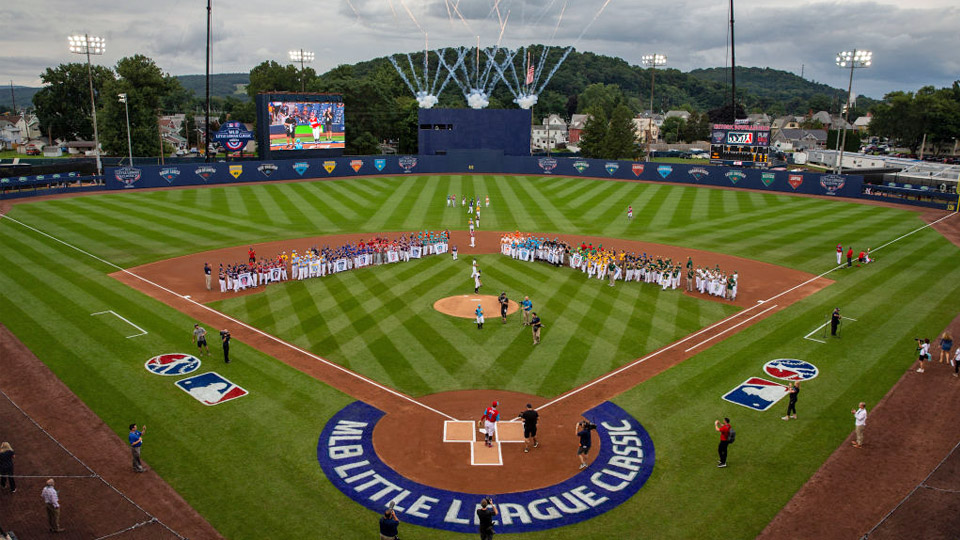 5e12fb29a The Little League Classic took place Sunday at Bowman Field, with the  Phillies hosting the Mets. (Alex Trautwig/Getty Images)