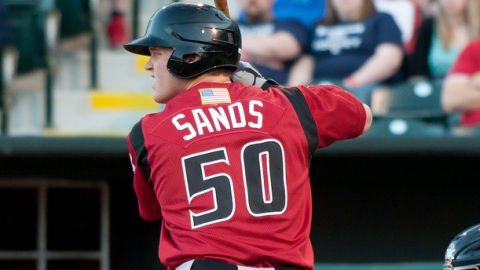 Jerry Sands was named a Pacific Coast League Post-Season All-Star.