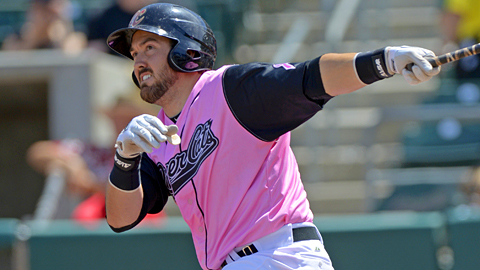 Sacramento's Luke Montz drove in 13 runs in just five games last week.
