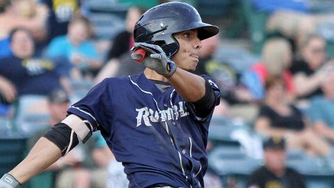Andres Gimenez was a Florida State League end-of-season All-Star despite moving up to Binghamton on July 23.