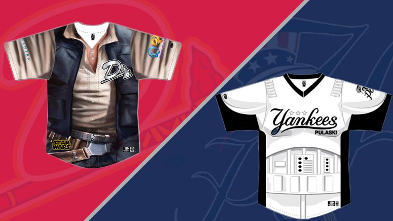 Braves, Yankees Team Up Against Cancer on Star Wars Night