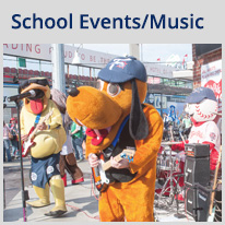 School Events and Music in Reading, PA