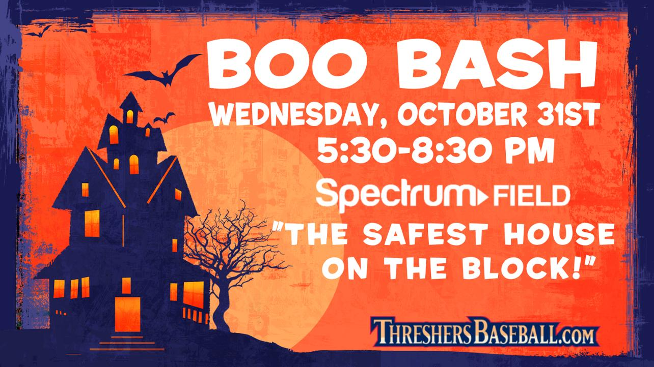 Boo Bash Returns to Spectrum Field on October 31, 2018!