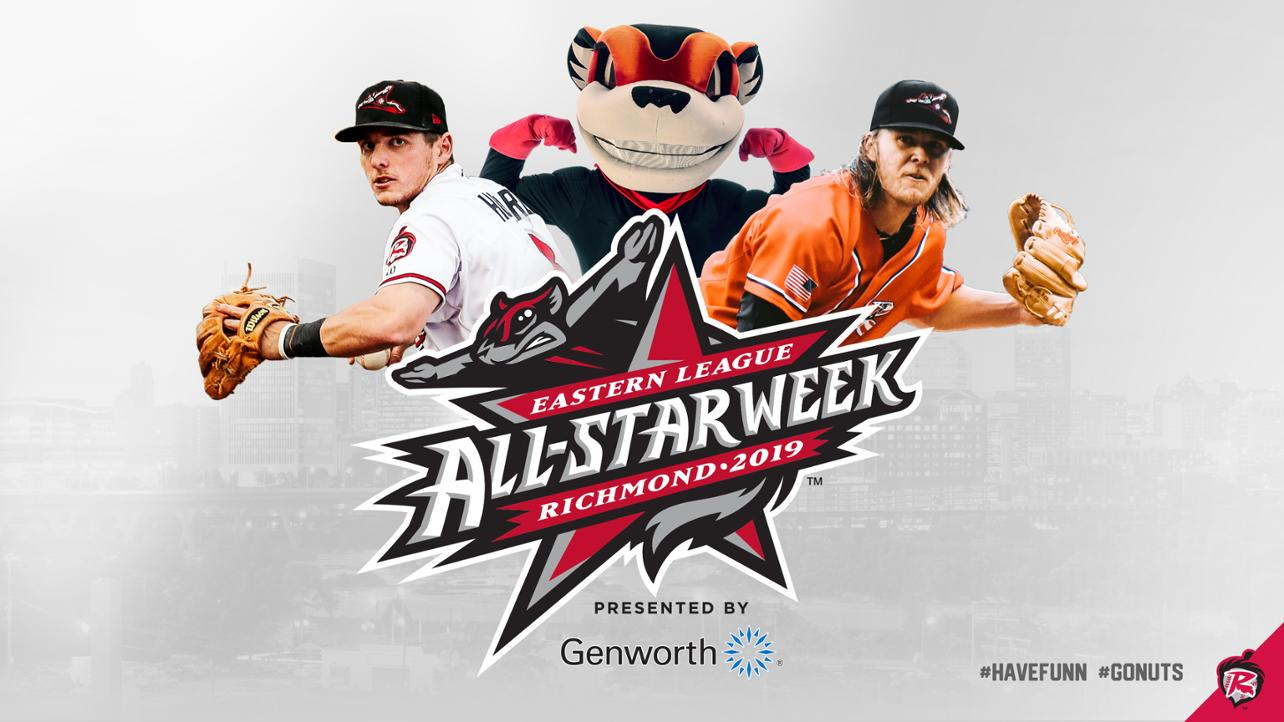 Flying Squirrels Unveil Eastern League All-Star Week Presented by Genworth