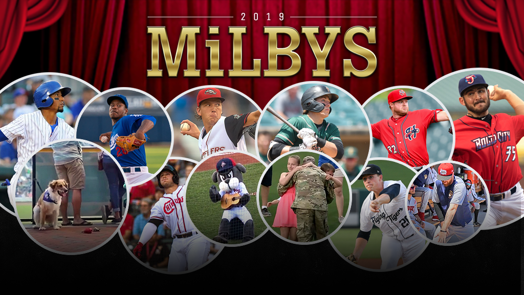 Decision time: Make your picks for the 2019 MiLBY Awards!