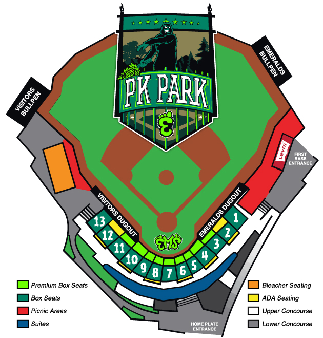 Mini-Plans | Eugene Emeralds Tickets