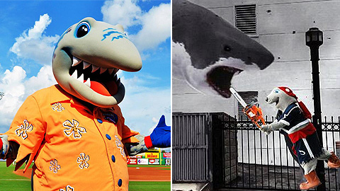 Clearwater's Phinley and Columbus' LouSeal are among the early leaders in the final round.