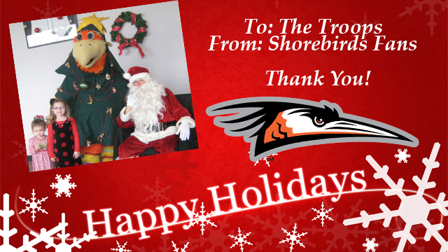 Shorebirds To Host Inaugural Cards For Troops Event Delmarva