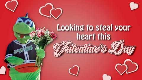 Want To Give Your Valentine Something Truly Special This Valentineu0027s Day?  Well Look No Further! The Vermont Lake Monsters Have The Perfect Valentineu0027s  Day ...