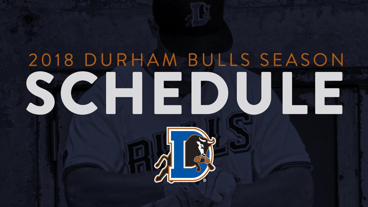 Bulls 2018 Home Schedule Released Durham Bulls News