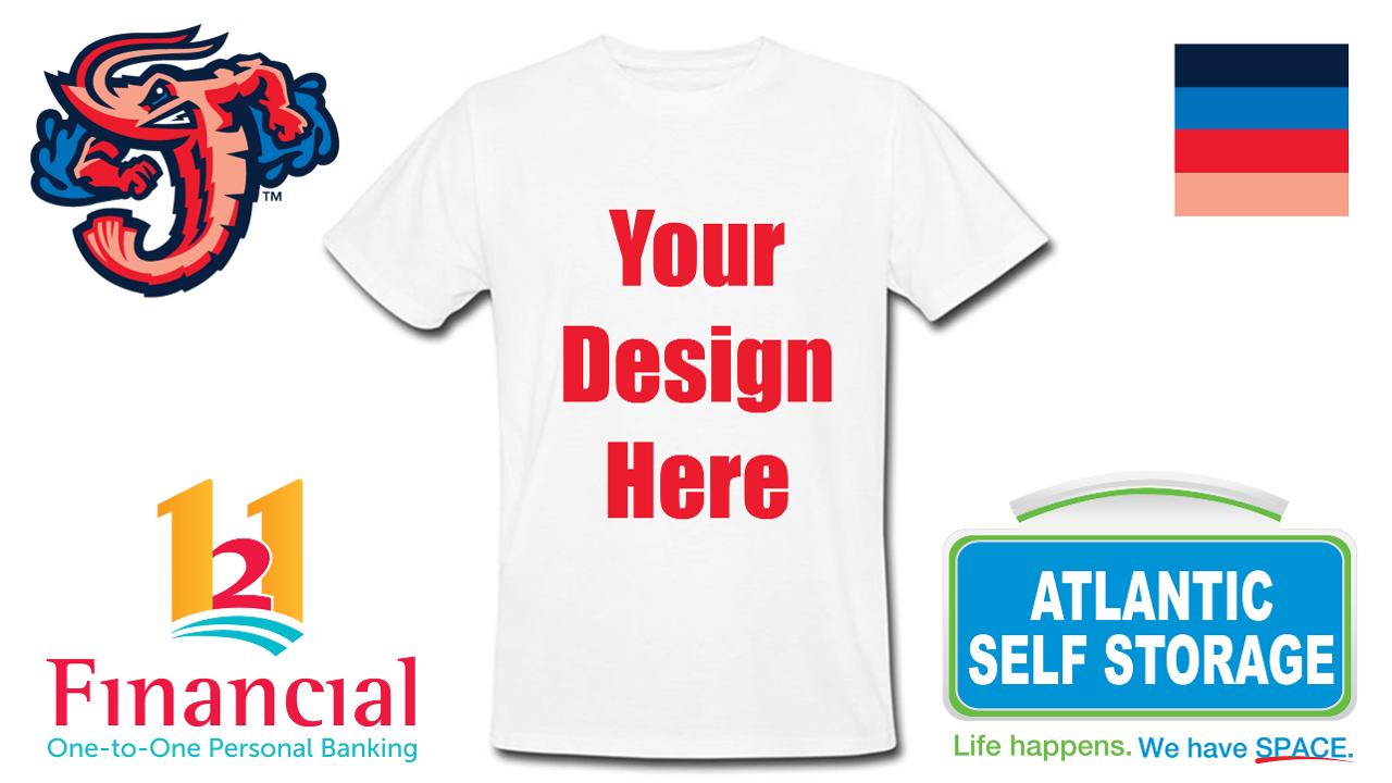 Fans Can Design Jumbo Shrimp T Shirt Giveaway Jacksonville Jumbo