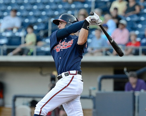Tyler Greene (Chris Roughgarden, Gwinnett Braves)