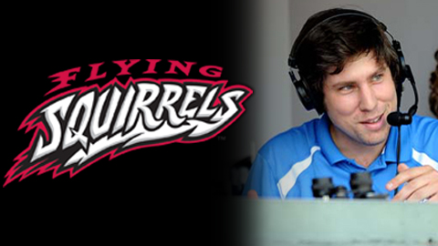 Jay Burnham joins Flying Squirrels broadcast team.