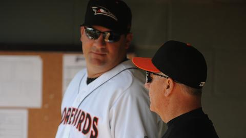 Ryan Minor to return to Shorebirds in 2014 after one-year in Frederick