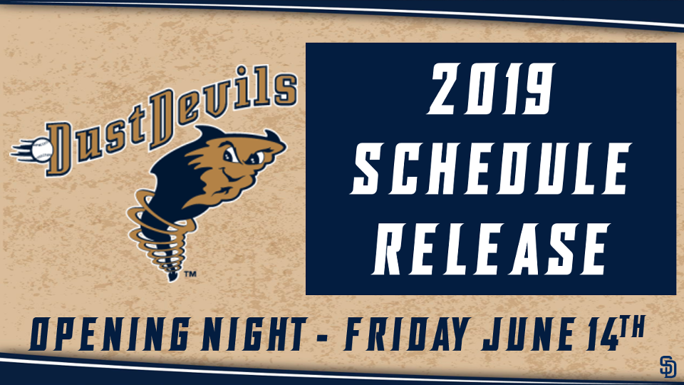 photograph relating to Seattle Mariners Printable Schedule identified as Dirt Devils Announce 2019 Agenda Tri-Town Grime Devils Information