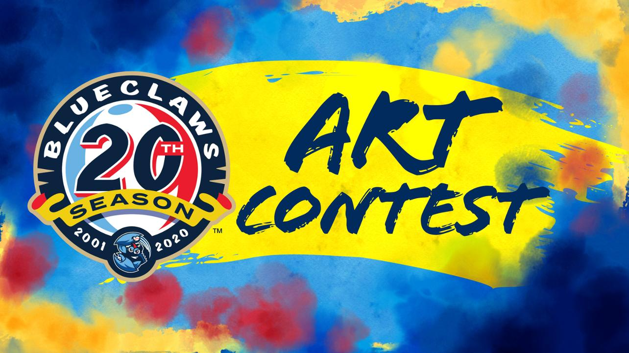 New: Paint It BlueClaws Art Contest