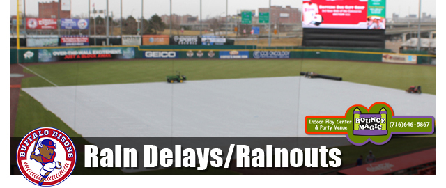 Bisons Rainouts