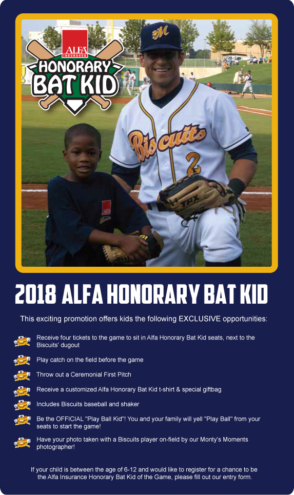 Alfa Honorary Bat Kid