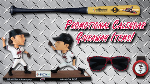 Promotional Calendar Part Two: Giveaway Items!