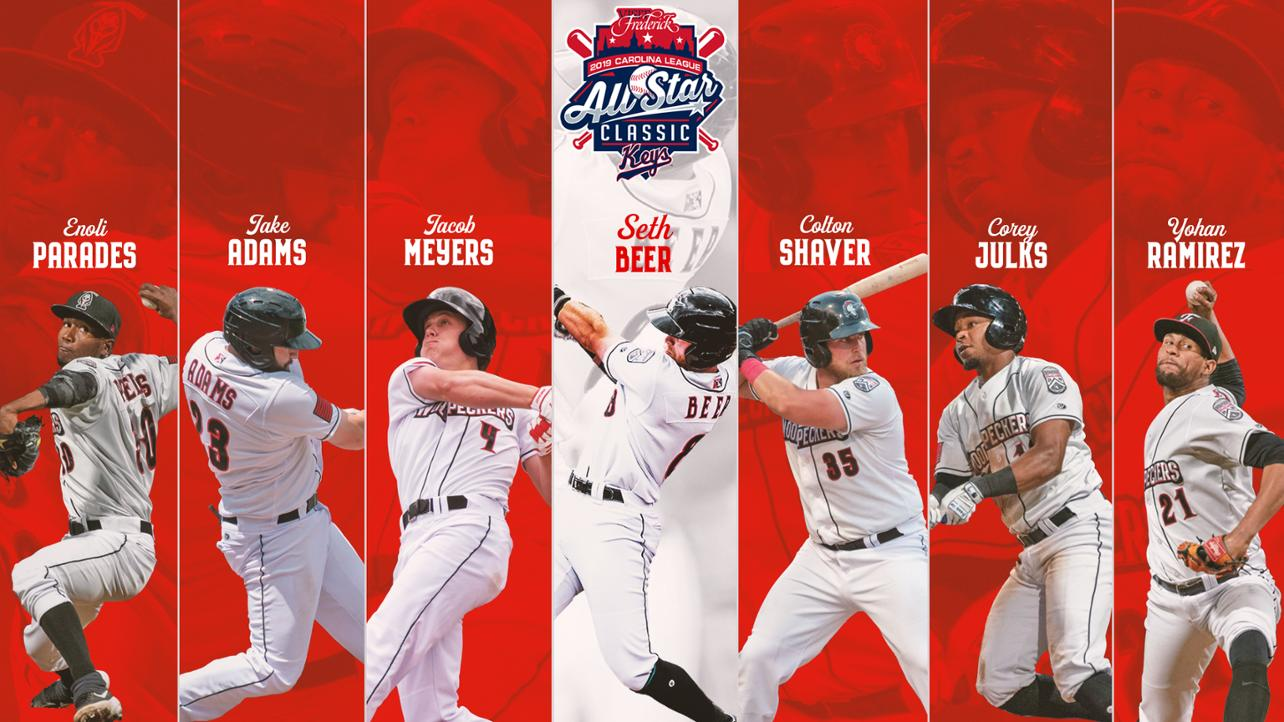 Woodpeckers Lauded with Seven All-Star Nods