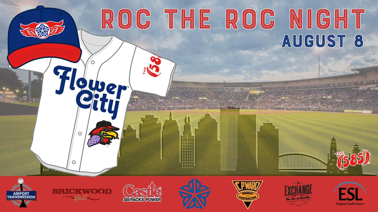 Wings salute city with ROC the ROC Night Aug. 8 | Rochester Red ...