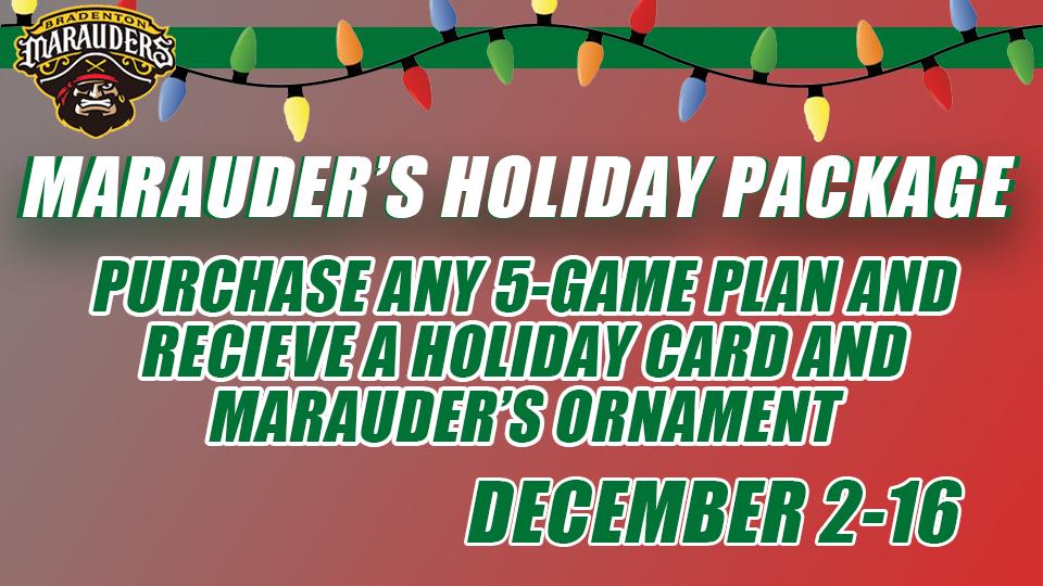 Marauders Holiday Package!