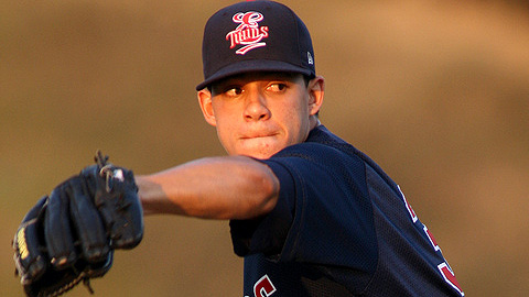 Jose Berrios retired 15 straight batters to earn the win Wednesday.