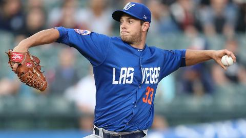 Steven Matz surrendered five runs on five hits in his first rehab start with Las Vegas last week.