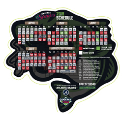 2018 Schedule Magnet Giveaway