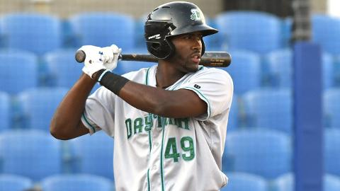 Ibandel Isabel totaled a .562 slugging percentage in 110 games across two Class A Advanced leagues.