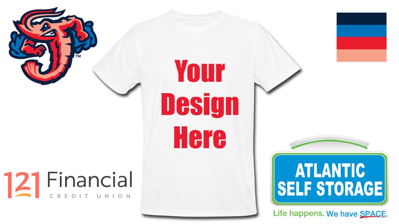 Fans can design Jumbo Shrimp T-shirt giveaway