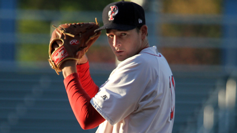 Allen Webster has a 2.70 ERA in 20 innings for Pawtucket this year.