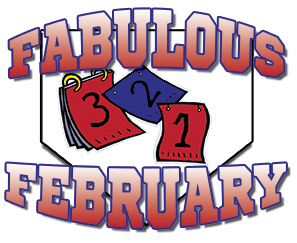 fabulous february logo