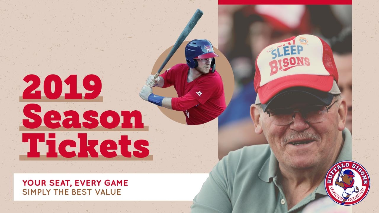 Simply the best value: 2019 season tickets | Buffalo Bisons News