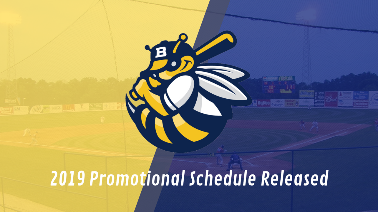 2019 Bees Promotional Schedule Announced