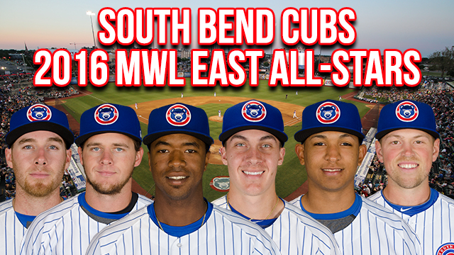 de0f7c05e41 Six Cubs Named to Midwest League All-Star Game. Ely, Hodges, Jimenez,  Dewees, Sands, Alzolay Headed To Cedar Rapids June 21.