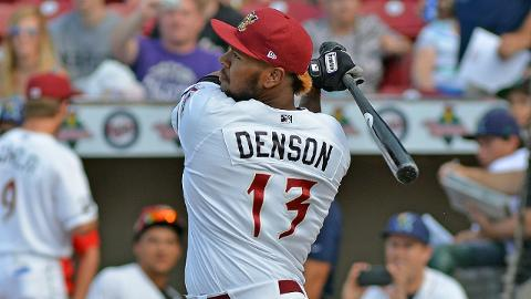 David Denson was a Midwest League All-Star for Wisconsin in 2016.