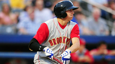 Brandon Nimmo, a first-round draftee, played for the GCL Mets in 2011.
