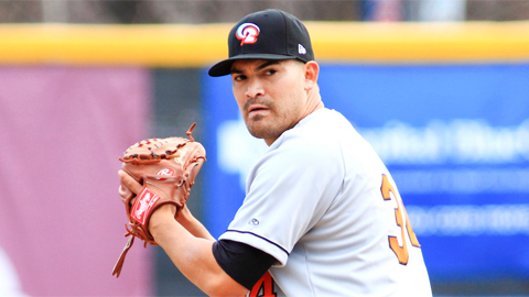 Eddie Gamboa has uncorked 13 wild pitches in 12 starts this year.