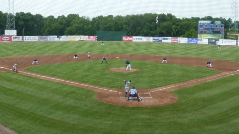 The Timber Rattlers had runners at second and third with one out in the top of the first inning and could not cash in on July 7 at Community Field.