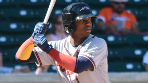 Ronald Acuna hit .325 with 82 RBIs in 139 games across three levels of the Minors this year.