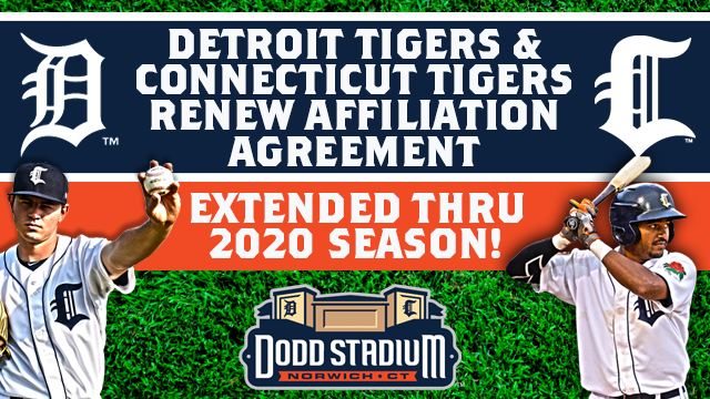 Tigers Home Opener 2020.Tigers Extend Affiliation Agreement Norwich Sea Unicorns News